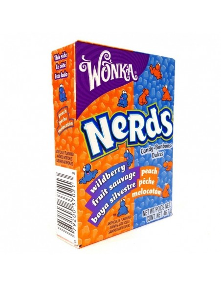 Nerds pêche fruits sauvages Wonka